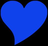 blue heart