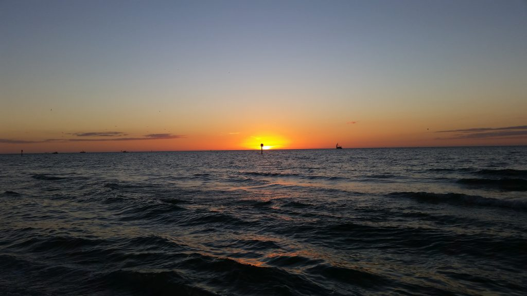 Clearwater Beach, Florida sunset