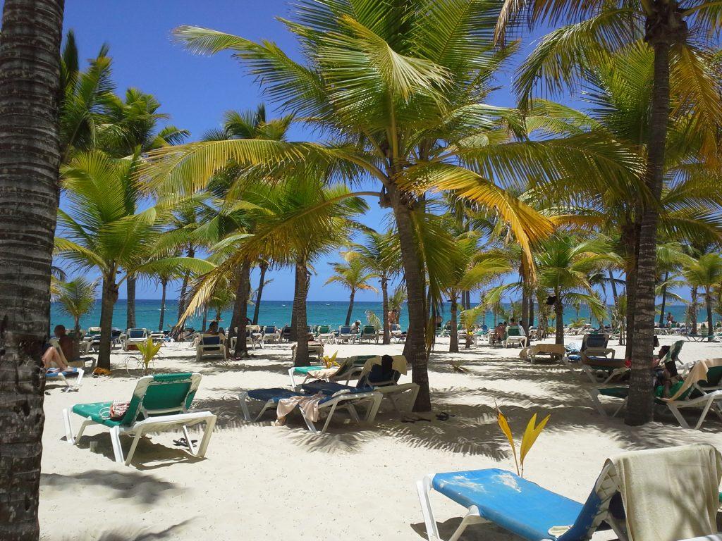 Dominican Republic beach scene