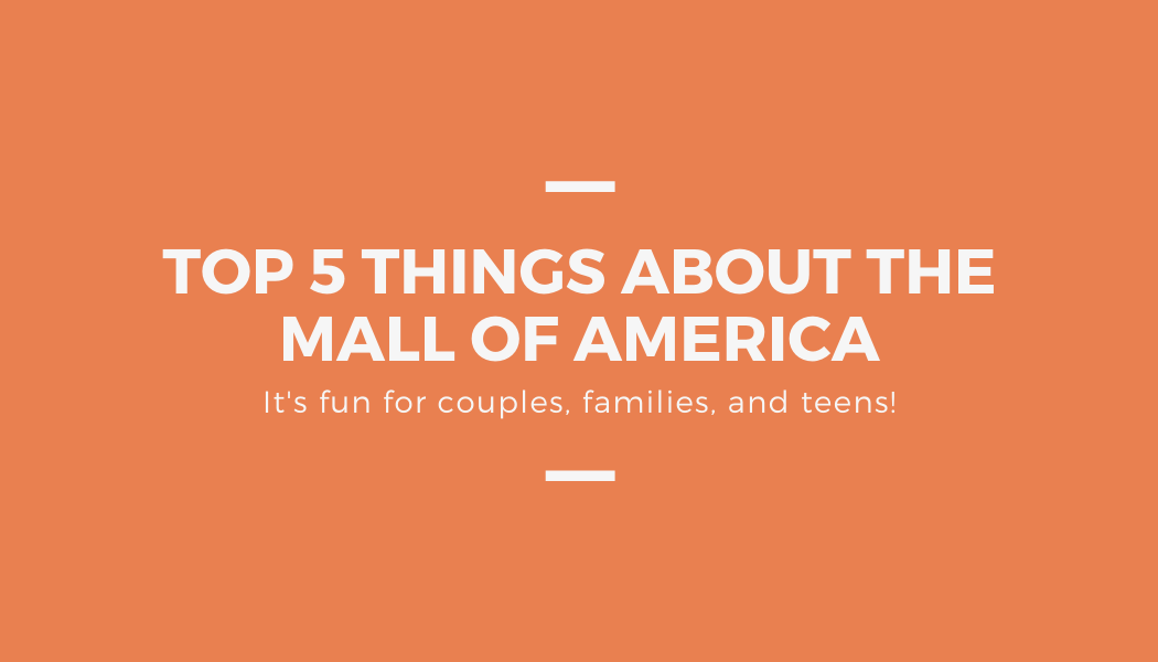 Activities for teens at Mall of America