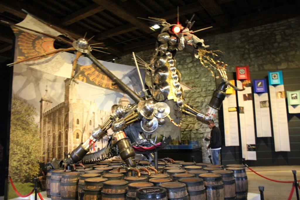 Dragon at Tower of London