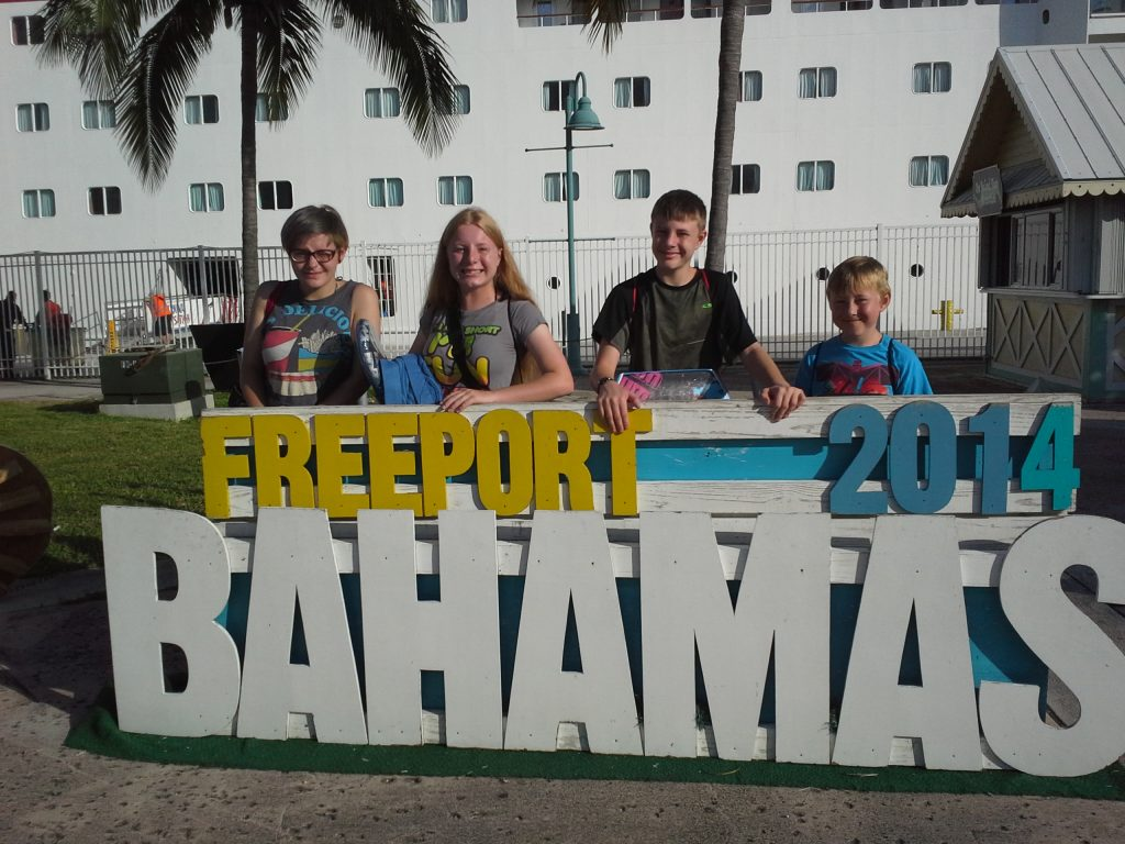 Kids in Freeport Bahamas