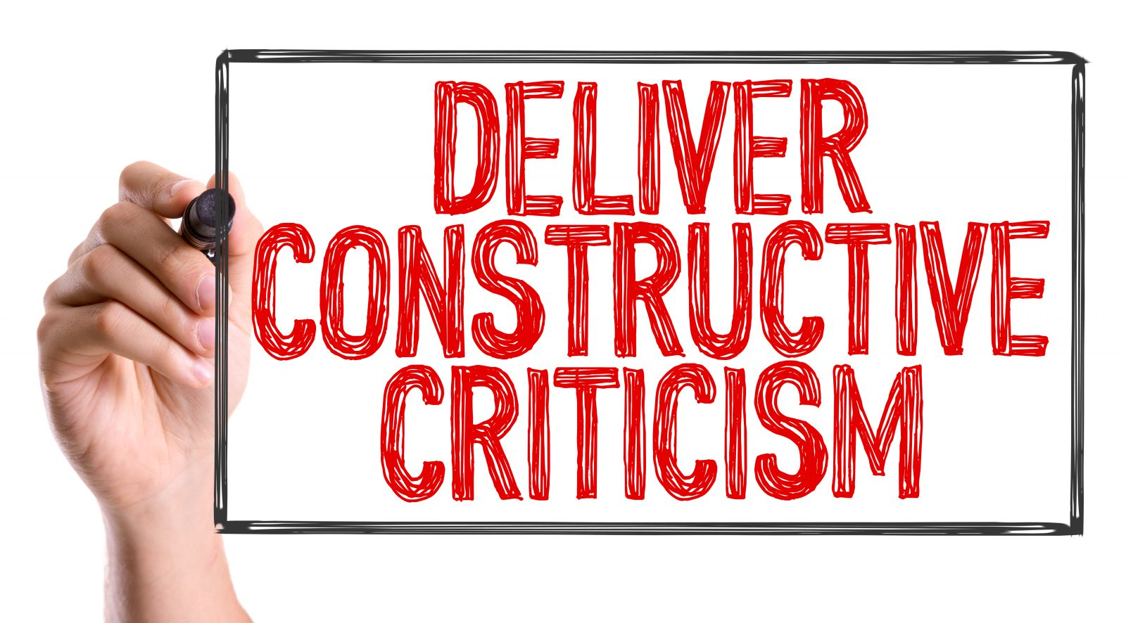 the importance of Constructive Criticism