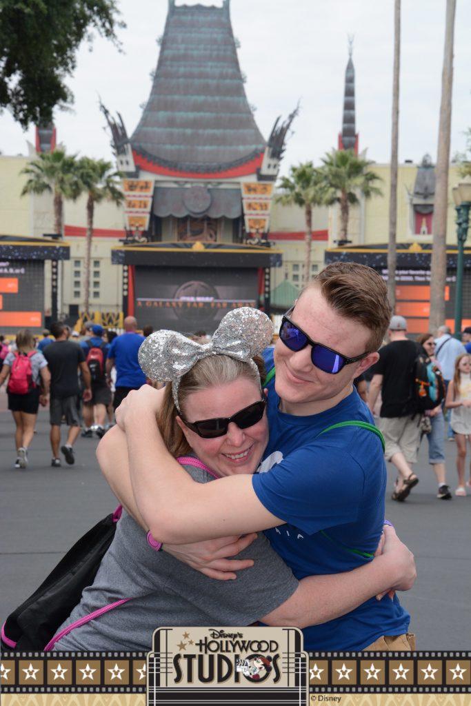 Mom and son at Disney Studios 2017