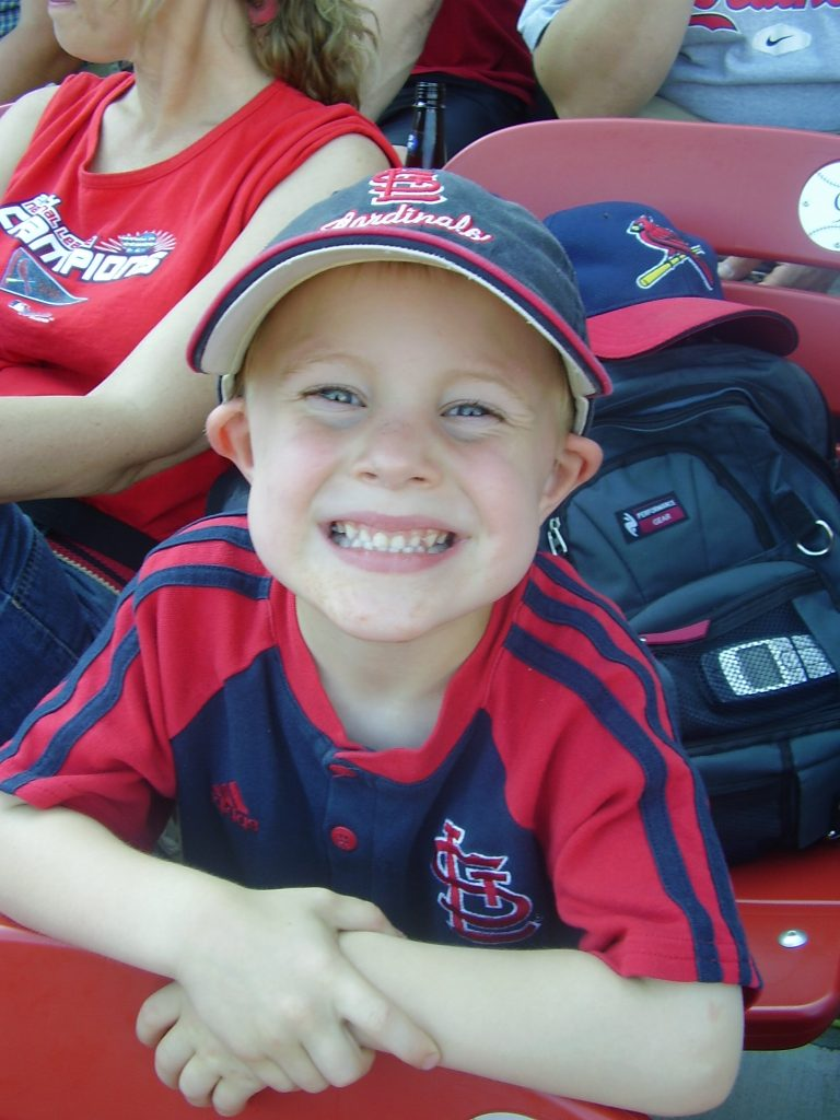 Kevin at St. Louis Cardinals game