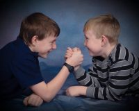 kevin and aaron age 11 and 9