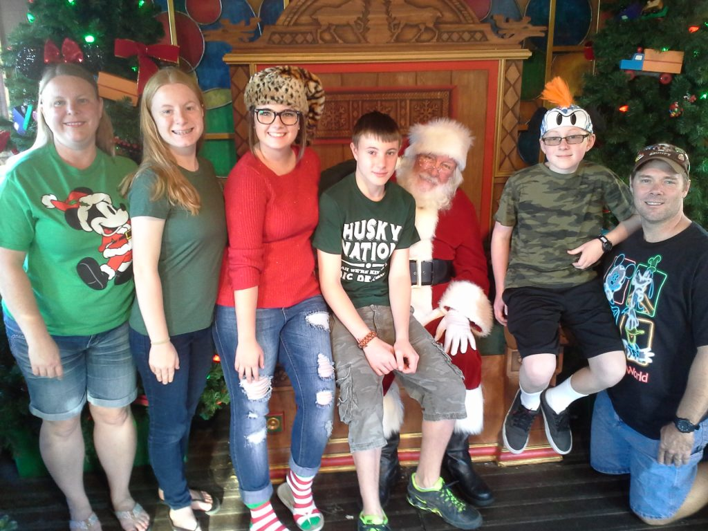 Christmas with Santa 2015 at Disney Springs