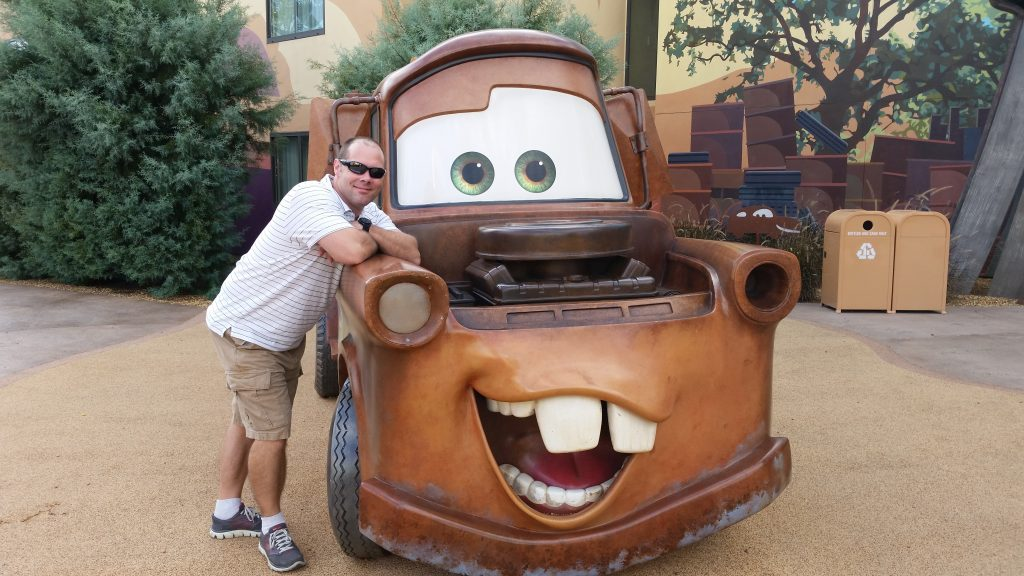Art of Animation--Mater