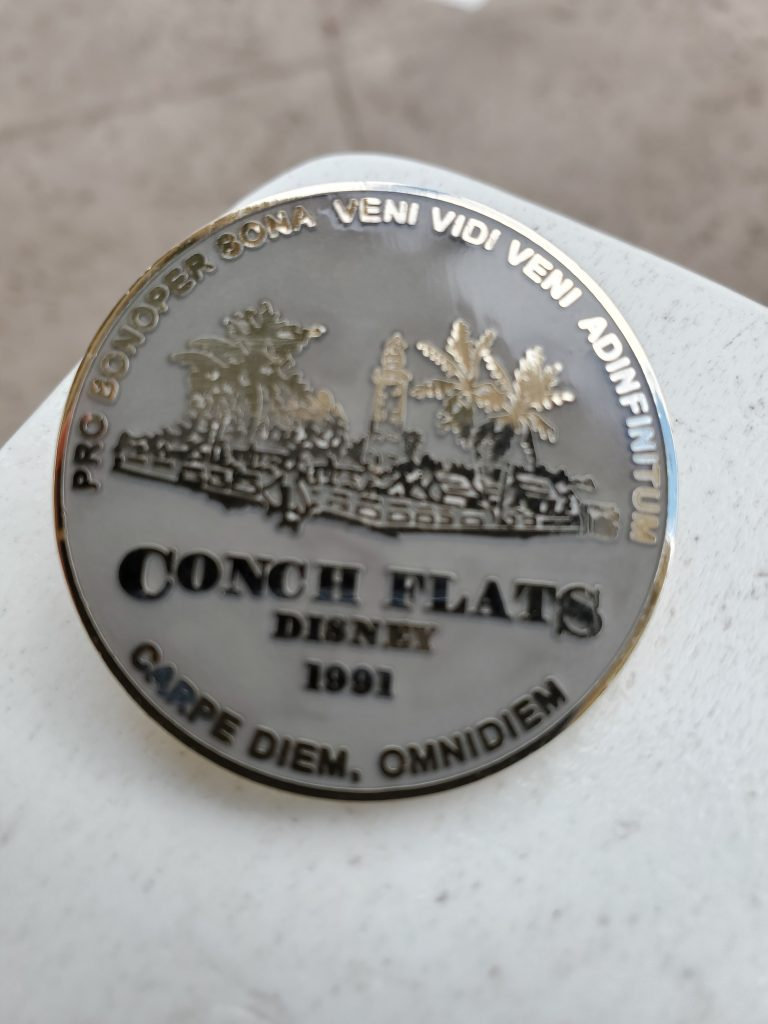 Conch Flats Old Key West pin