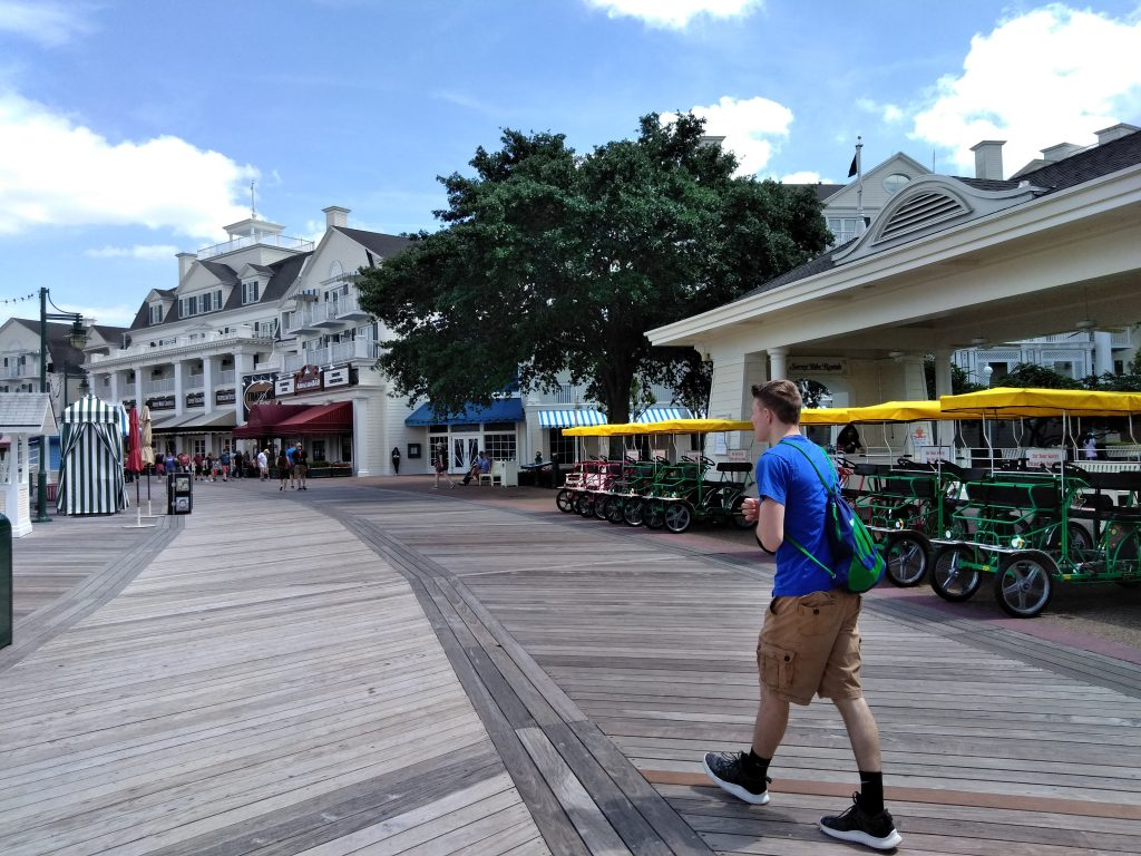 Boardwalk at WDW