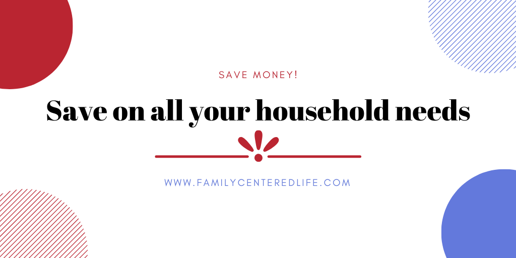household deals and discounts