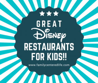 Disney restaurants for kids