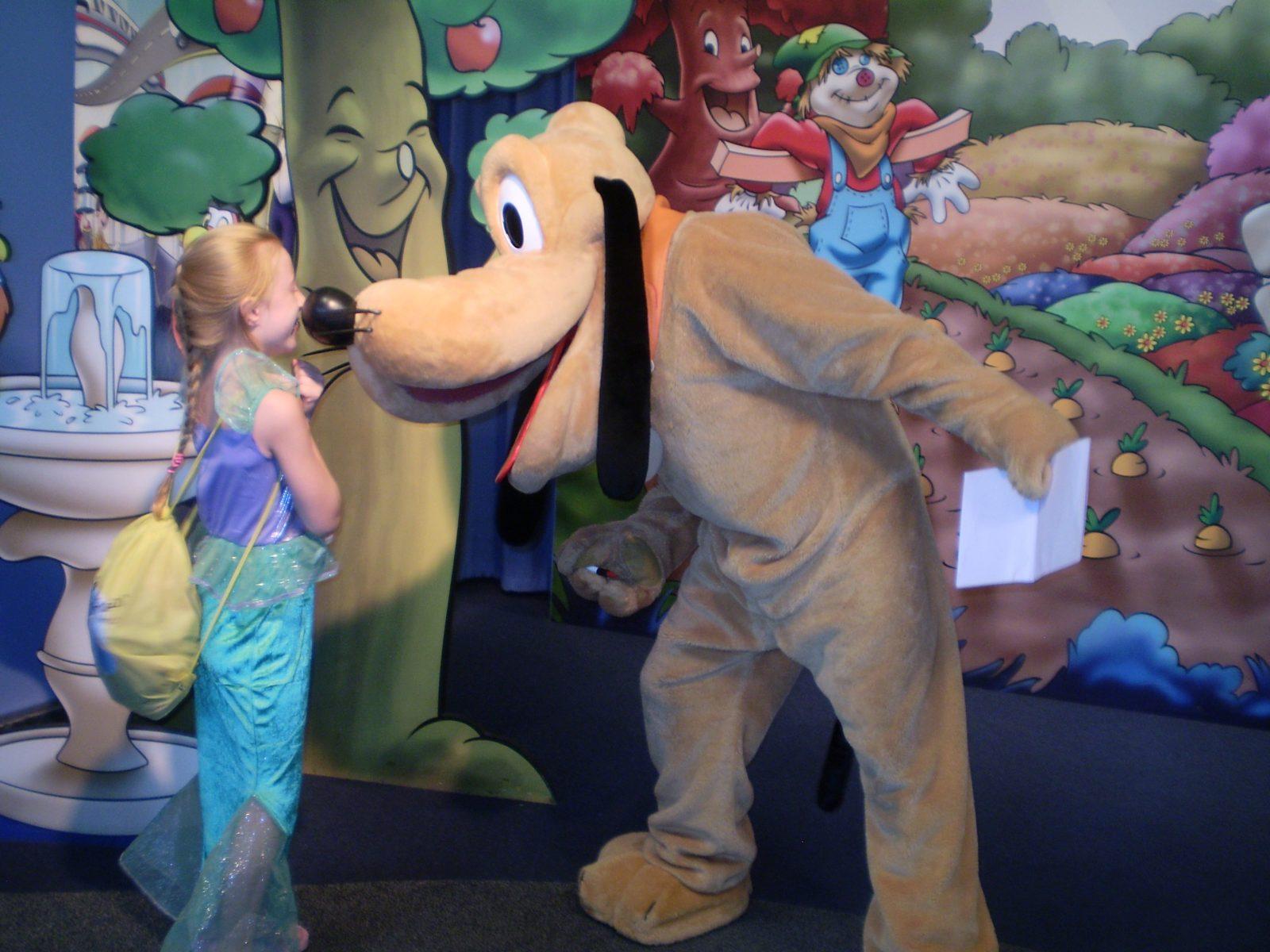 pluto at Disney