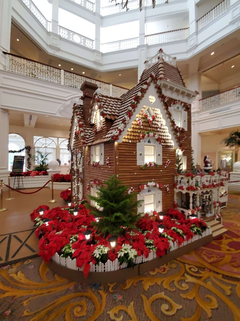 Grand Floridian Gingerbread House 2019