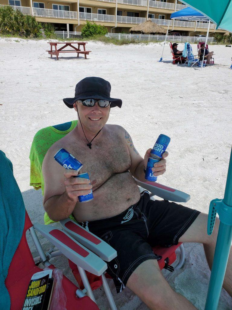 family beach trip in Florida