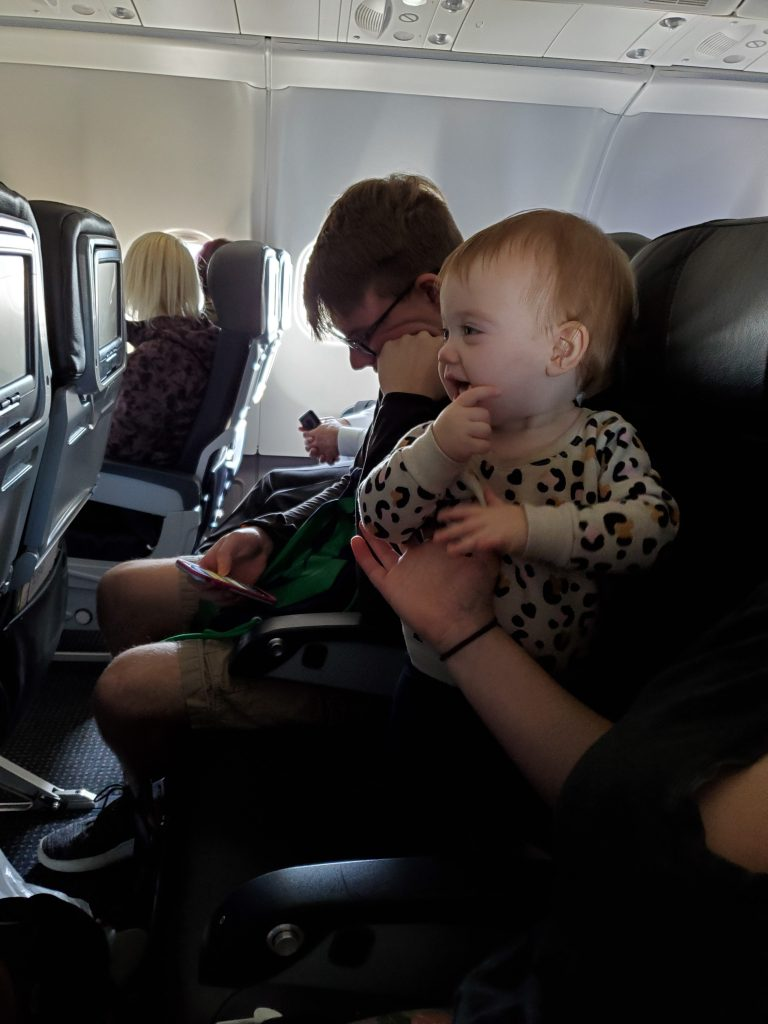 should I fly with my toddler?