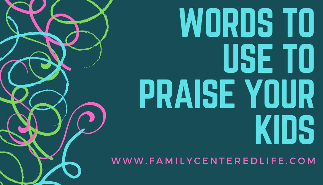 Praise Words!
