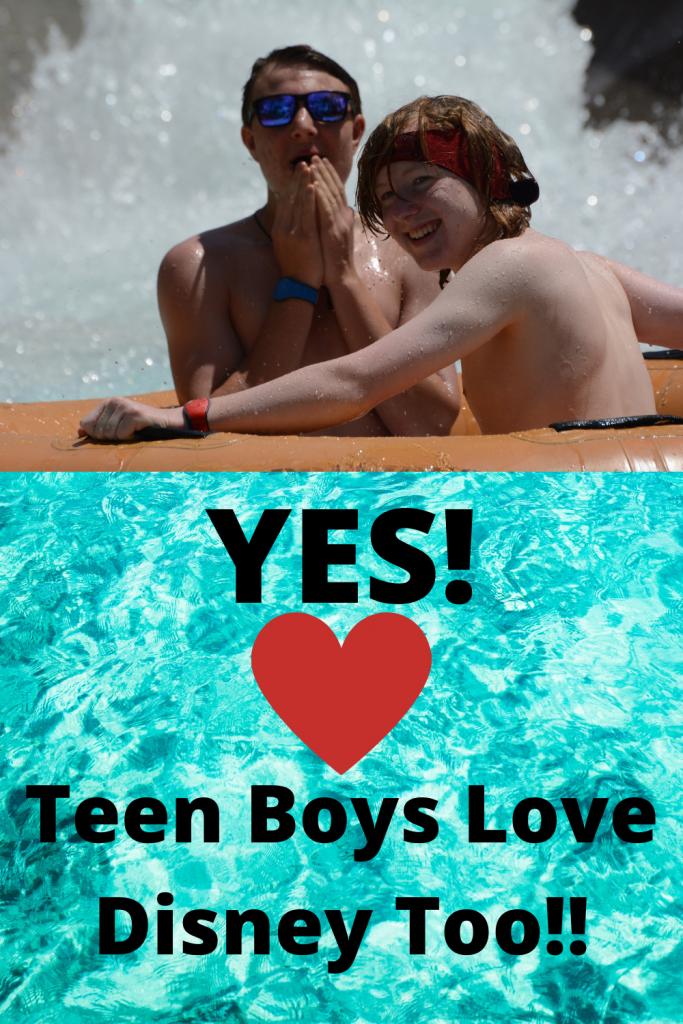 Teens love Walt Disney World