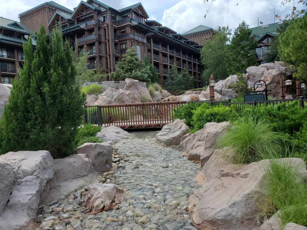 Wilderness Lodge river view