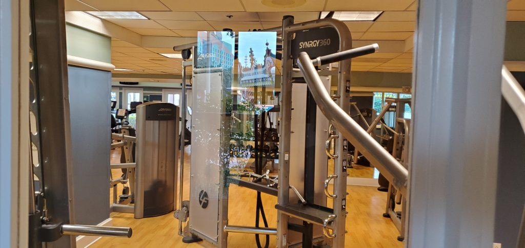 Disney's Boardwalk exercise facility