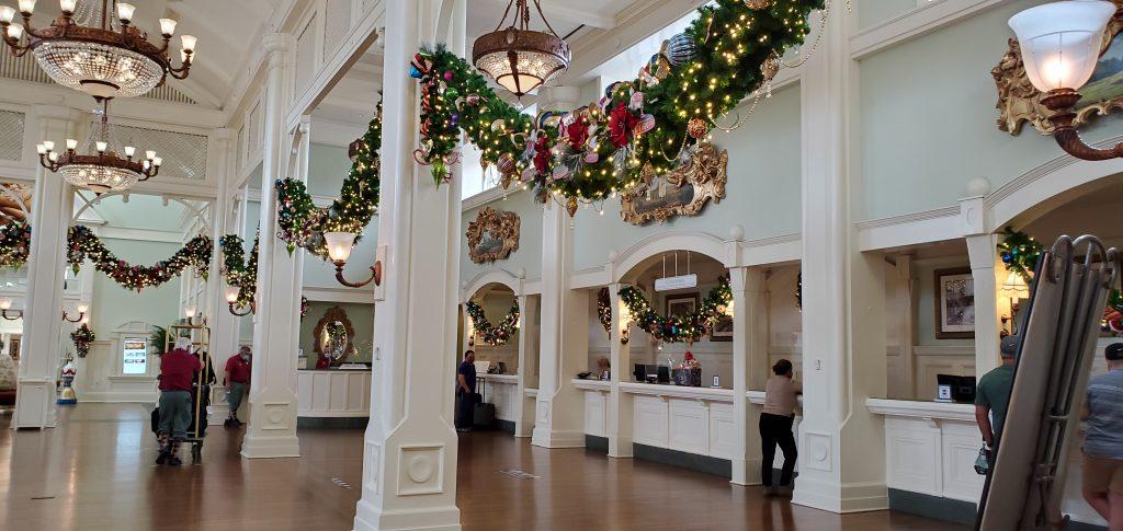 Boardwalk Resort at Christmas time
