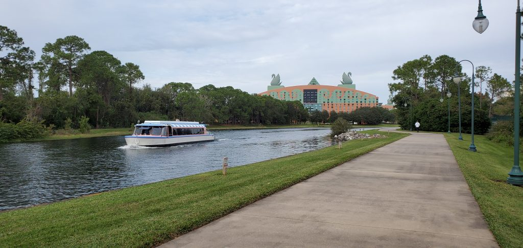 Path between EPCOT and Disney's Hollywood Studios