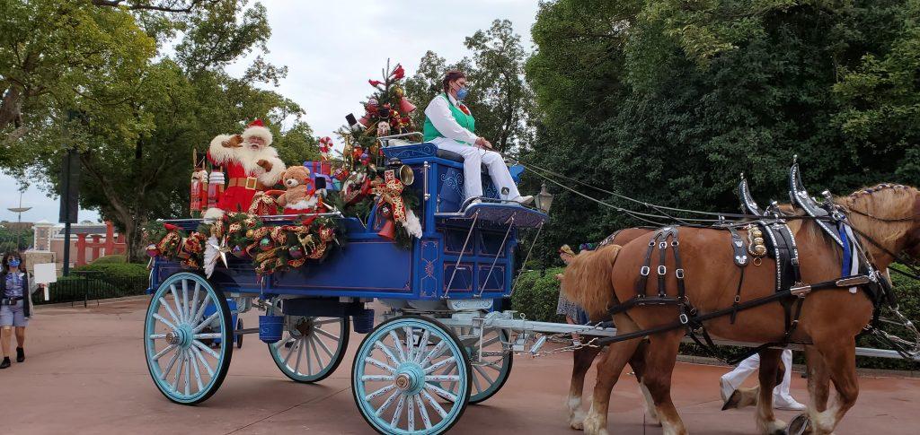 Santa at EPCOT