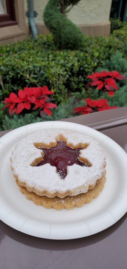 EPCOT's Holiday Cookie Stroll in Germany