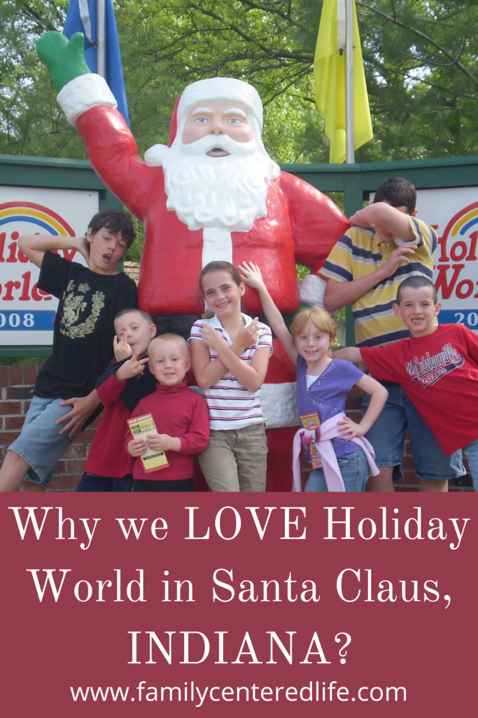 Holiday World in Santa Claus, Indiana