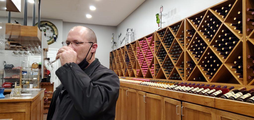 wine tasting in Gatlinburg