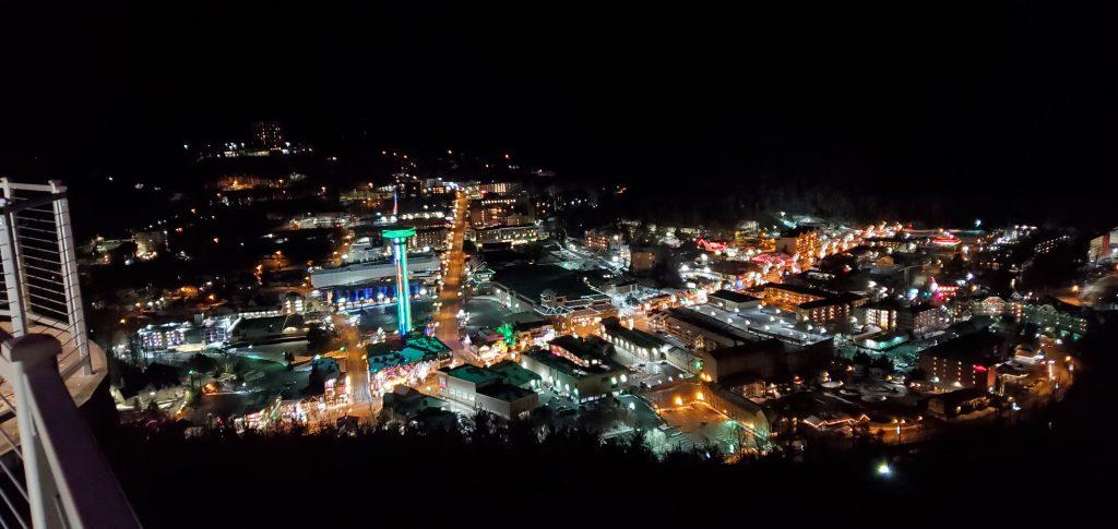 Gatlinburg night views