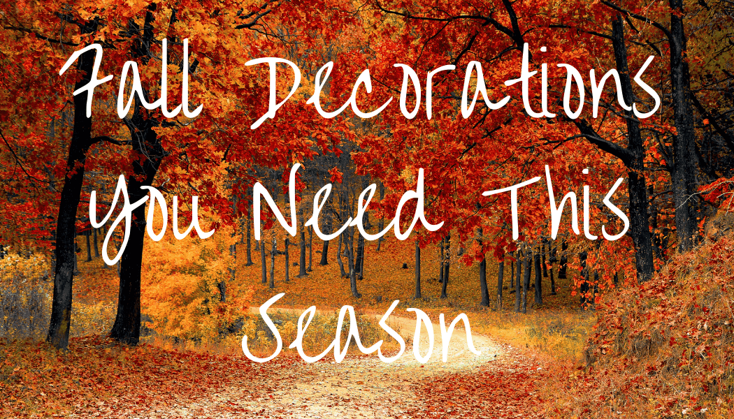 the best fall decorations